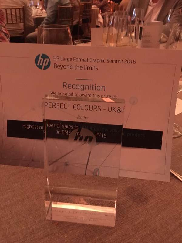 Perfect Colours is number one in EMEA for HP Latex!