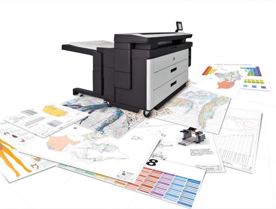 The new PageWide XL 5100: a printer that meets the need for speed