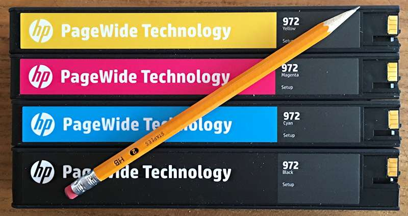 Original HP inks earn durability certificate for use in PageWide XLs