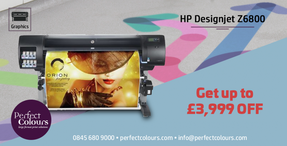 August promotions on HP Large Format DesignJets