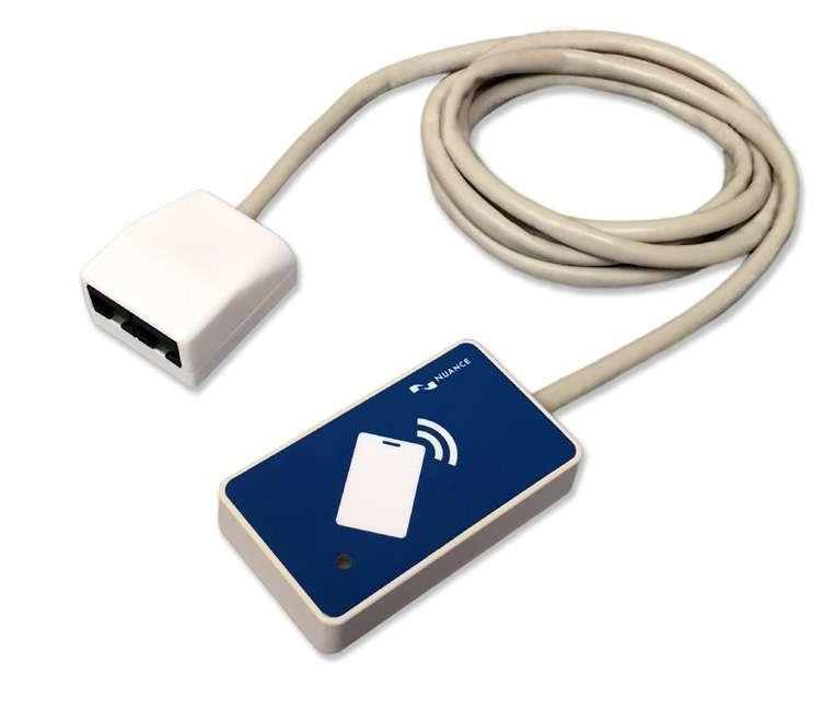 Nuance Ethernet Card Reader