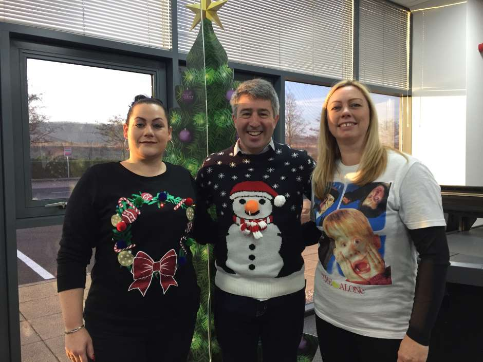It's Christmas Jumper Day at Perfect Colours