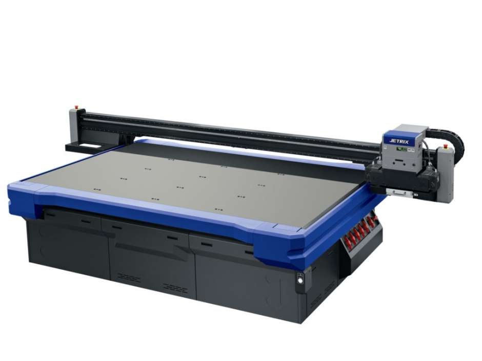 We've brought the new Jetrix KX6U-LED high speed flatbed to Sheffield