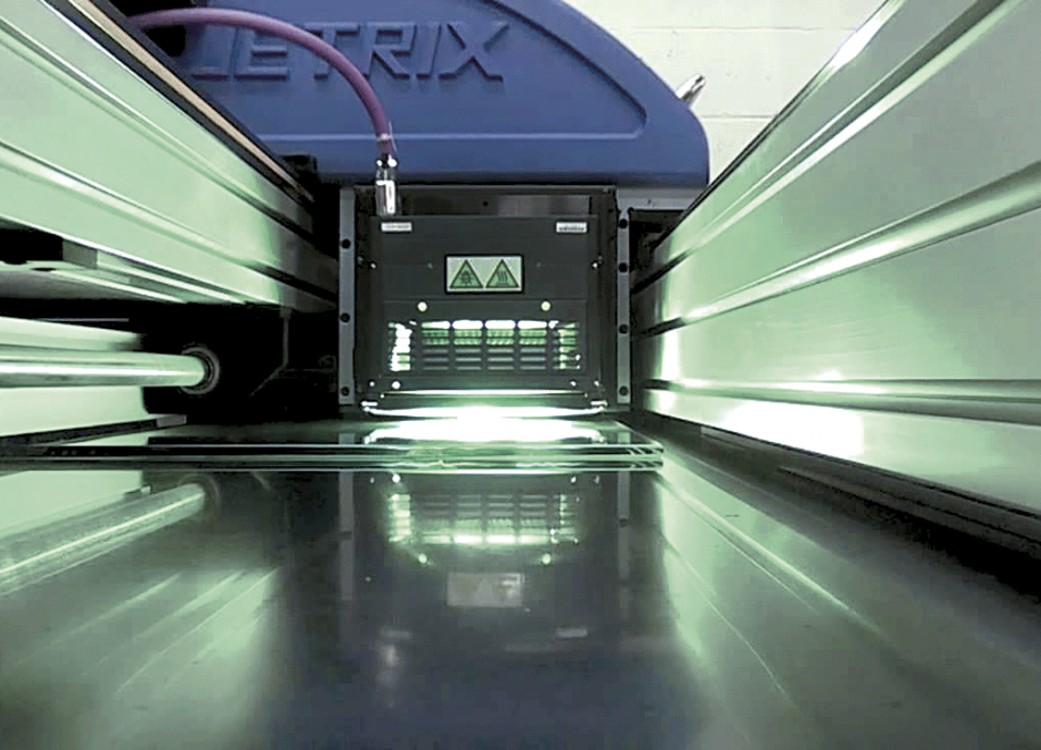 Your chance to see the Jetrix KX6U LED-UV in action