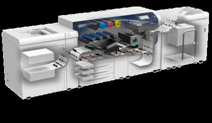 Xerox Versant 2100 Press inside