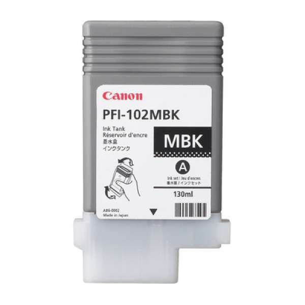 Canon PFI-102MBK 130ml Matte Black