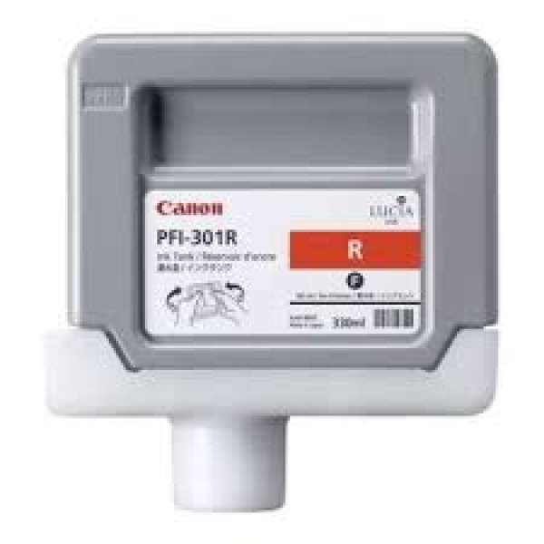 Canon PFI-301R 330ml Red