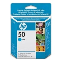 HP No. 50 Ink Cartridge Cyan - 42ml