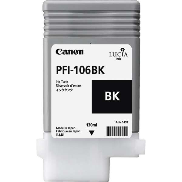 Canon PFI-106BK 130ml Black