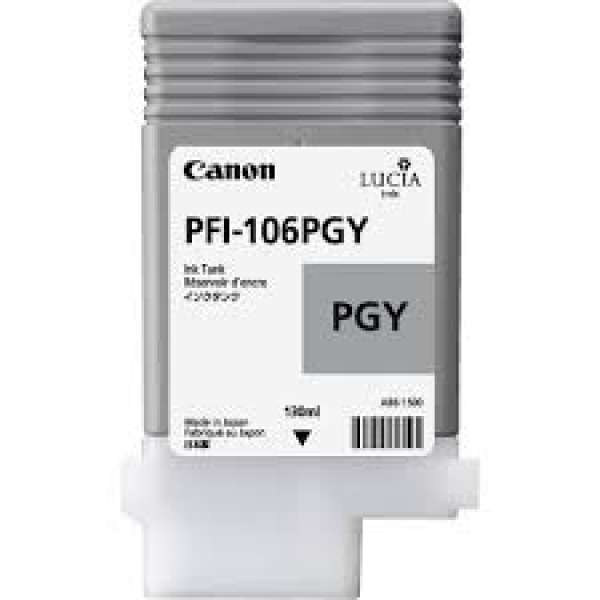 Canon PFI-106PGY 130ml Photo Grey