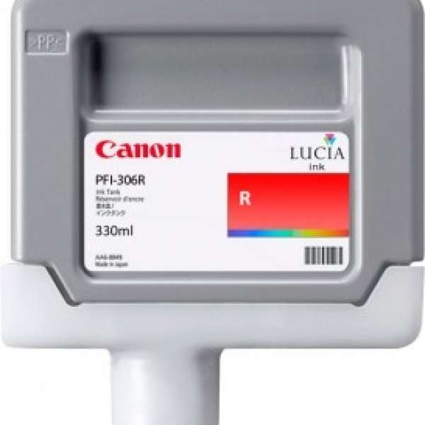 Canon PFI-306R 330ml Red