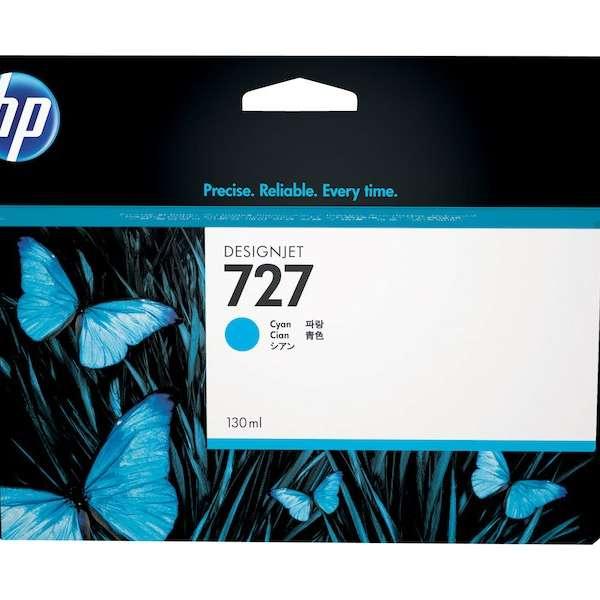 HP No. 727 Ink Cartridge Cyan - 130ml