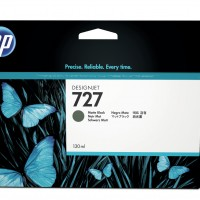 HP No. 727 Ink Cartridge Matte Black - 130ml