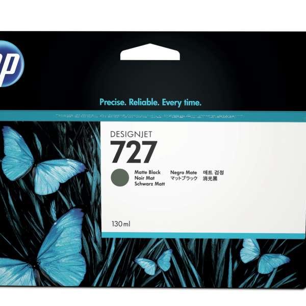 HP No. 727 Ink Cartridge Matte Black - 130ml