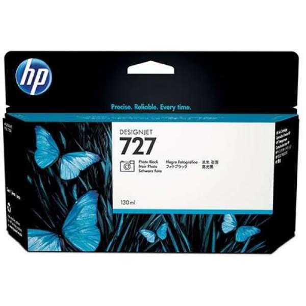 HP No. 727 Ink Cartridge Photo Black - 130ml