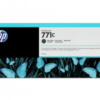 HP No. 771 Ink Cartridge - Matte Black - 775ml