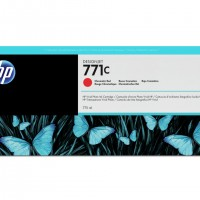 HP No. 771 Ink Cartridge - Chromatic Red - 775ml