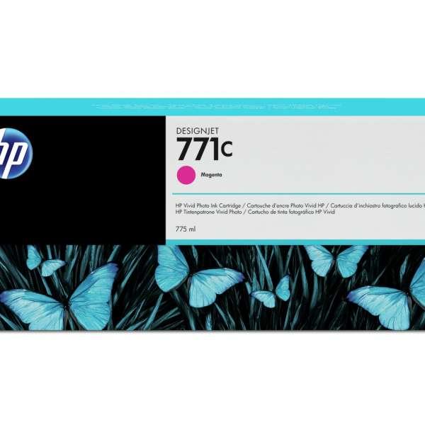 HP No. 771 Ink Cartridge - Magenta - 775ml