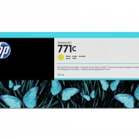 HP No. 771 Ink Cartridge - Yellow - 775ml