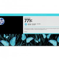HP No. 771 Ink Cartridge - Light Cyan - 775ml