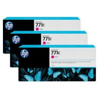 HP No. 771 Triple pack  Ink Cartridges - Magenta