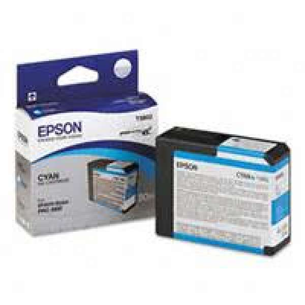 Epson Cyan Ink Cartridge 80ml