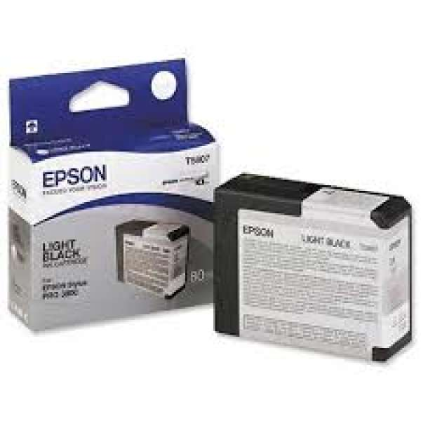 Epson Light Black Ink Cartridge 80ml