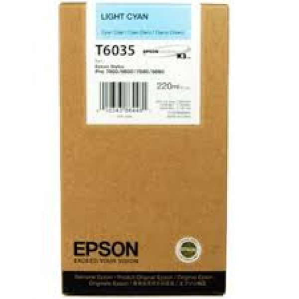Epson Light Cyan Ink Cartridge 220ml