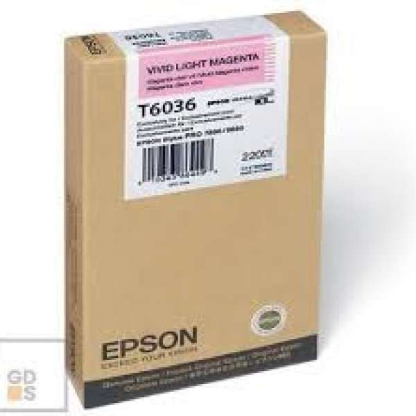 Epson Vivid Light Magenta Ink Cartridge 220ml