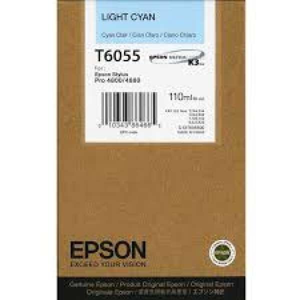 Epson Light Cyan Ink Cartridge 110ml