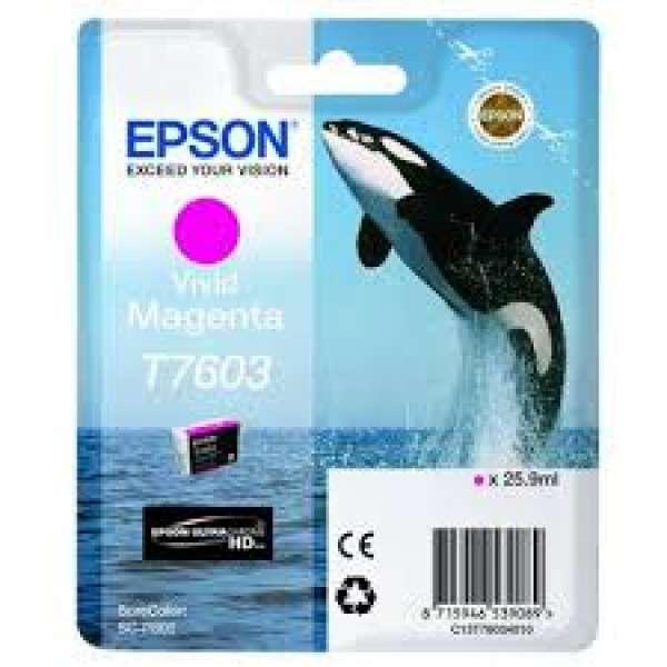 Epson Vivid Magenta Ink Cartridge 25.9ml