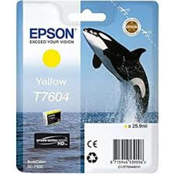 Epson Yellow Ink Cartridge 25.9ml