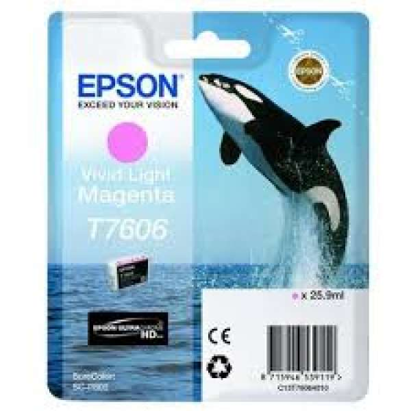 Epson Vivid Light Magenta Ink Cartridge 25.9ml
