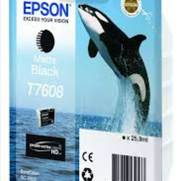 Epson Matte Black UltraChrome HD Ink - 25.9ml