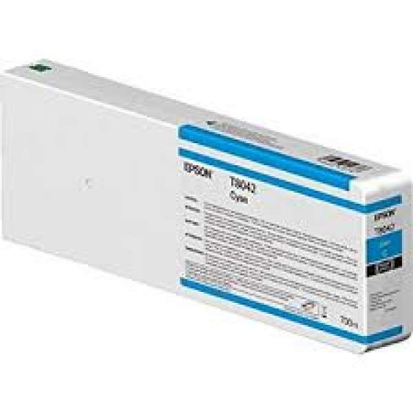 Epson Singlepack Cyan UltraChrome HDX/HD 700ml