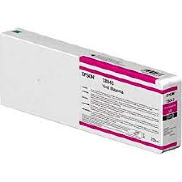 Epson Singlepack Vivid Magenta UltraChrome HDX/HD 700ml
