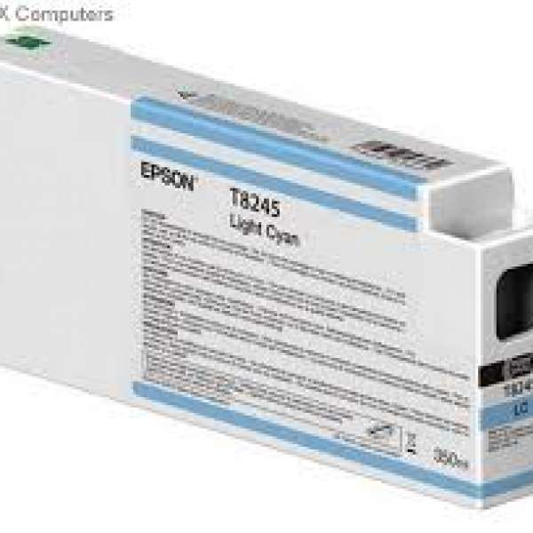 Epson Singlepack Light Cyan UltraChrome HDX/HD 350ml