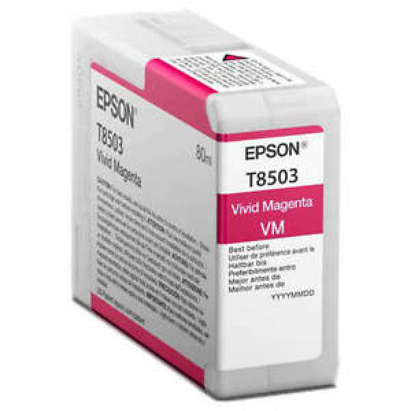 Epson Singlepack Vivid Magenta UltraChrome HD ink 80ml