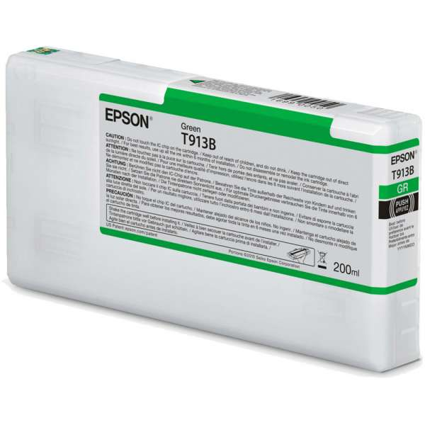 Epson T913B Green Ink Cartridge 200ml