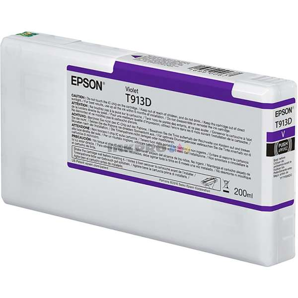 Epson T913D Violet Ink Cartridge 200ml
