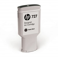 HP No. 727 Ink Cartridge Matte Black 300ml