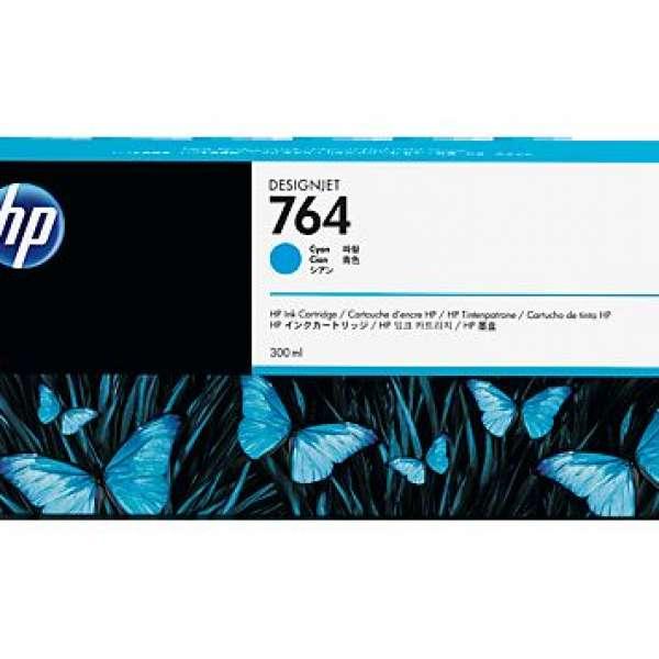 HP No. 764 Ink Cartridge Cyan - 300ml
