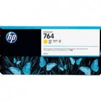 HP No. 764 Ink Cartridge Yellow - 300ml