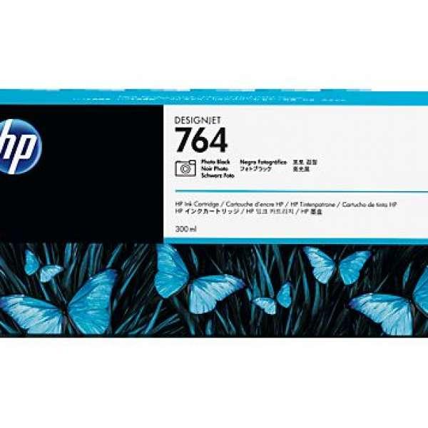 HP No. 764 Ink Cartridge Photo Black - 300ml