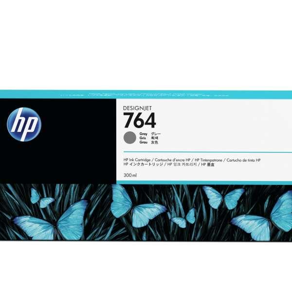 HP No. 764 Ink Cartridge Grey - 300ml