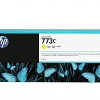 HP No. 773C 775-ml Yellow Designjet Ink Cartridge