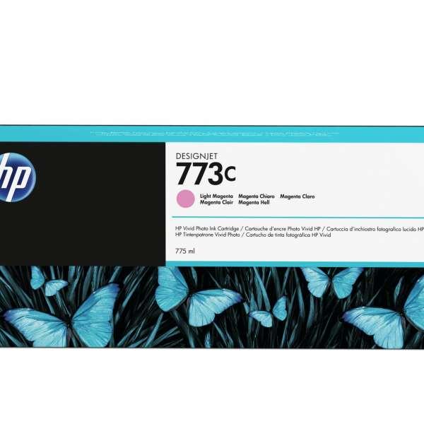 HP No. 773C 775-ml Light Magenta Designjet Ink Cartridge