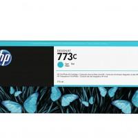 HP No. 773C 775-ml Cyan Designjet Ink Cartridge