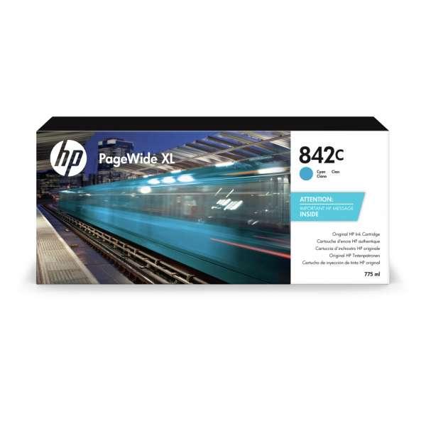 HP No. 842C Ink Cartridge Cyan - 775ml