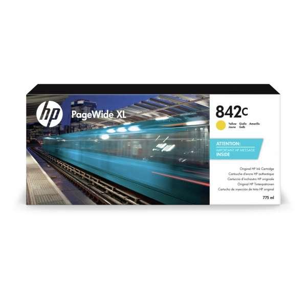 HP No. 842C Ink Cartridge Yellow -775ml